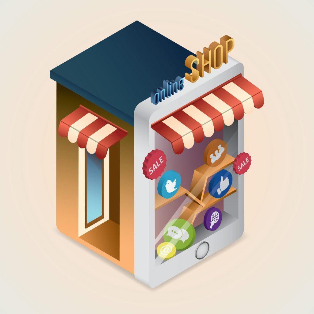 web storefront